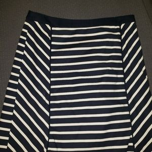 Limited Striped Aline Skirt